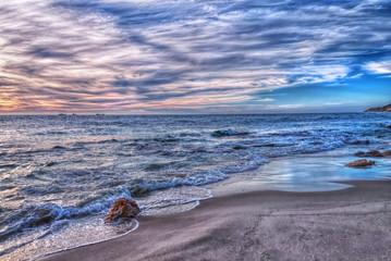 Beach at sunset, Perth, Western Australia, Australia