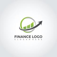 Finance Logo Template Design. Vector Illustration Eps. 10