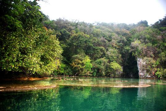 Landscape in Chiapas