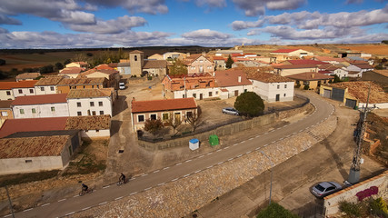 Viana de Duero village in Soria province, Spain