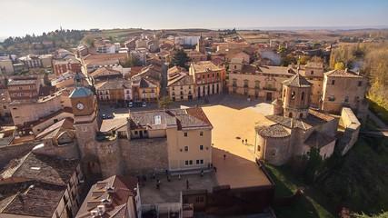 Almazan village in Soria province, Spain
