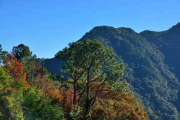 Mountain landscape in the Hsinchu,Taiwan.