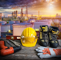 Standard construction safety and tools