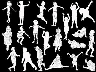 twenty one active girl white silhouettes