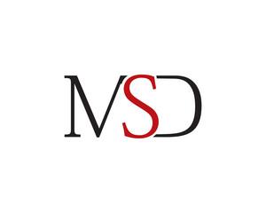msd letter logo