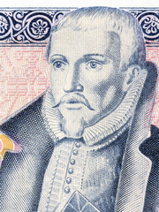 Arngrimur Jonsson portrait from Icelandic money
