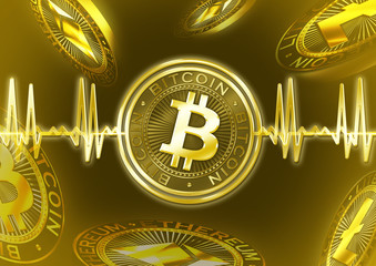 Cryptocurrency Bitcoin pulse