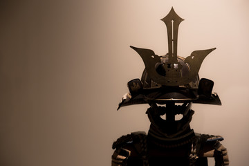 Japanese Samurai Armor shadow
