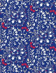 cute small paisley pattern