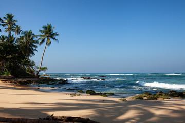 the beach near Ambalangoda, Sri Lanka