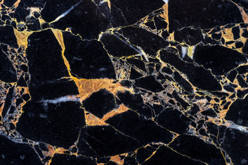 golden black marble texture backdrop with detail structure