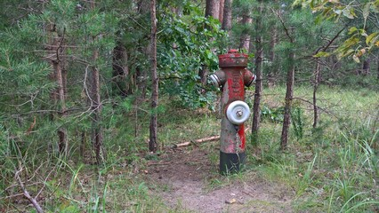 Lost Place - Der Hydrant