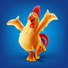 chicken cartoon