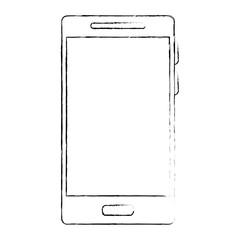 smartphone device isolated icon