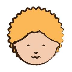 cartoon man icon image