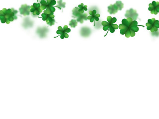 Saint Patricks day template. EPS 10 vector