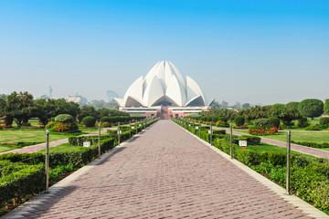 Foto auf Gartenposter Lotosblume Lotus Temple, India