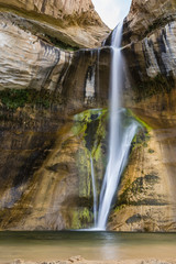 Lower Calf Creek Falls, Grand Staircase-Escalante National Monument, Utah, United States of America, North America