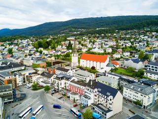 Molde city in Norway