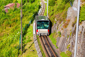 Floibanen funicular in Bergen