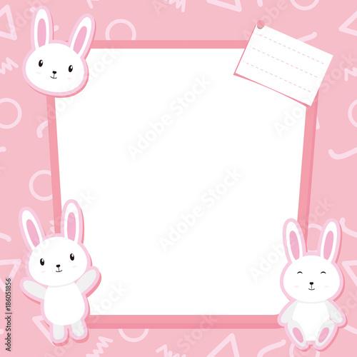 Cute Bunny Frame\