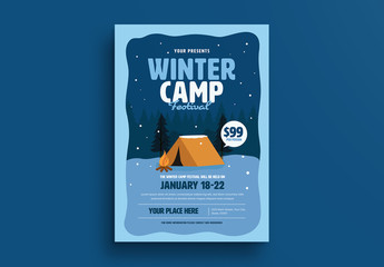 Winter Camp Flyer Layout