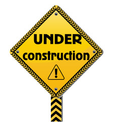 Under construction sign icon