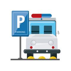 parking zone design