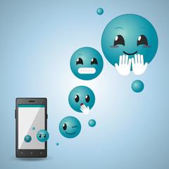 Social media emoticon design