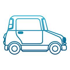 Small car vehicle icon vector illustration graphic design