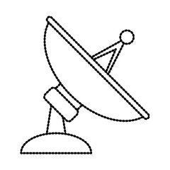 communications antenna isolated icon vector illustration graphic design