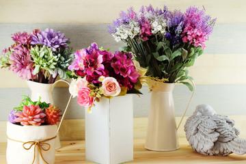 colorful decoration artificial flower bouquet