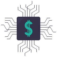 money chip icon