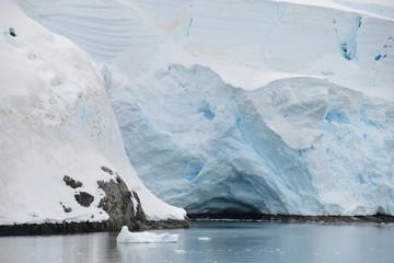 Iceberg Antarctica in the water