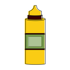 Sauces bottle isolated icon vector illustration graphic design
