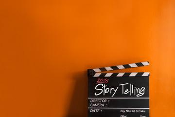 2018 story  title in film slate