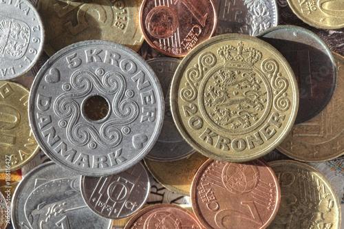 Dänische Kronen Münzen Stockfotos Und Lizenzfreie Bilder Auf