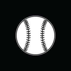 Baseball Vector Template Design