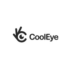 Eye icon. Ok symbol, Okay vector logo, high quality