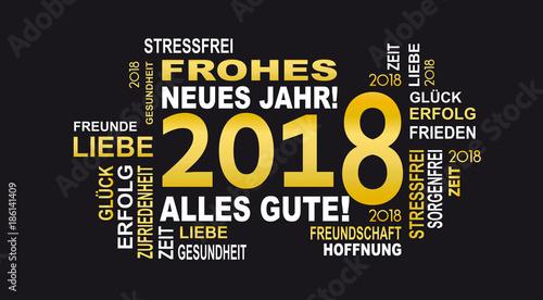 frohes neues jahr 2018\