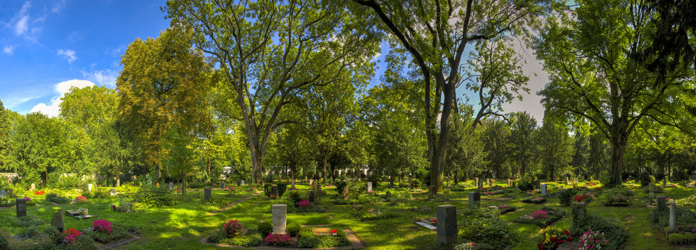 Hauptfriedhof in Frankfurt am Main