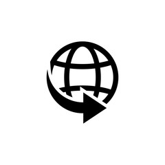 World delivery icon