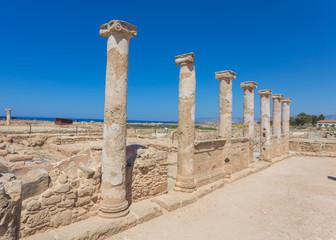 Kato Paphos Archaeological Park, Cyprus.
