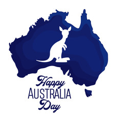 happy australia day background
