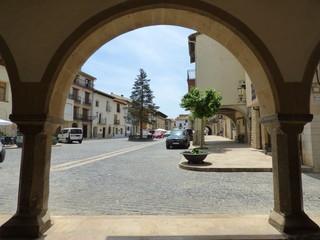 Forcall, pueblo de la Comunidad Valenciana, España. Perteneciente a la provincia de Castellón, en la comarca de Los Puertos de Morella.