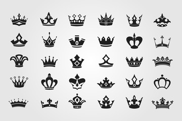 Crown Icons and Symbols