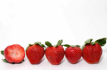 4 and a half Strawberries