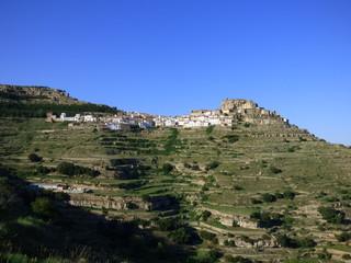 Ares del Maestre. Pueblo de la Comunidad Valenciana, España. Situado en la provincia de Castellón, en la comarca del Alto Maestrazgo.