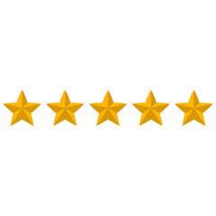 Rating stars icons