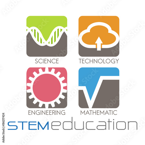 """stem Education Logo"" Stock Image And Royalty-free Vector"